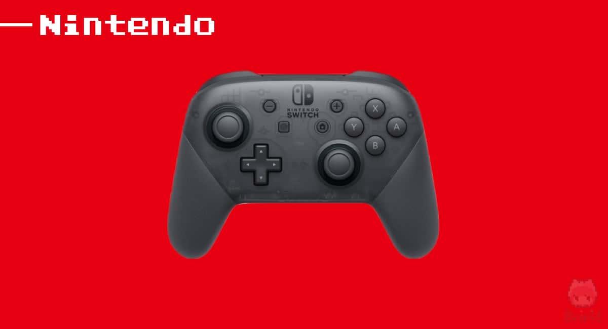 任天堂『Nintendo Switch Proコントローラー』。