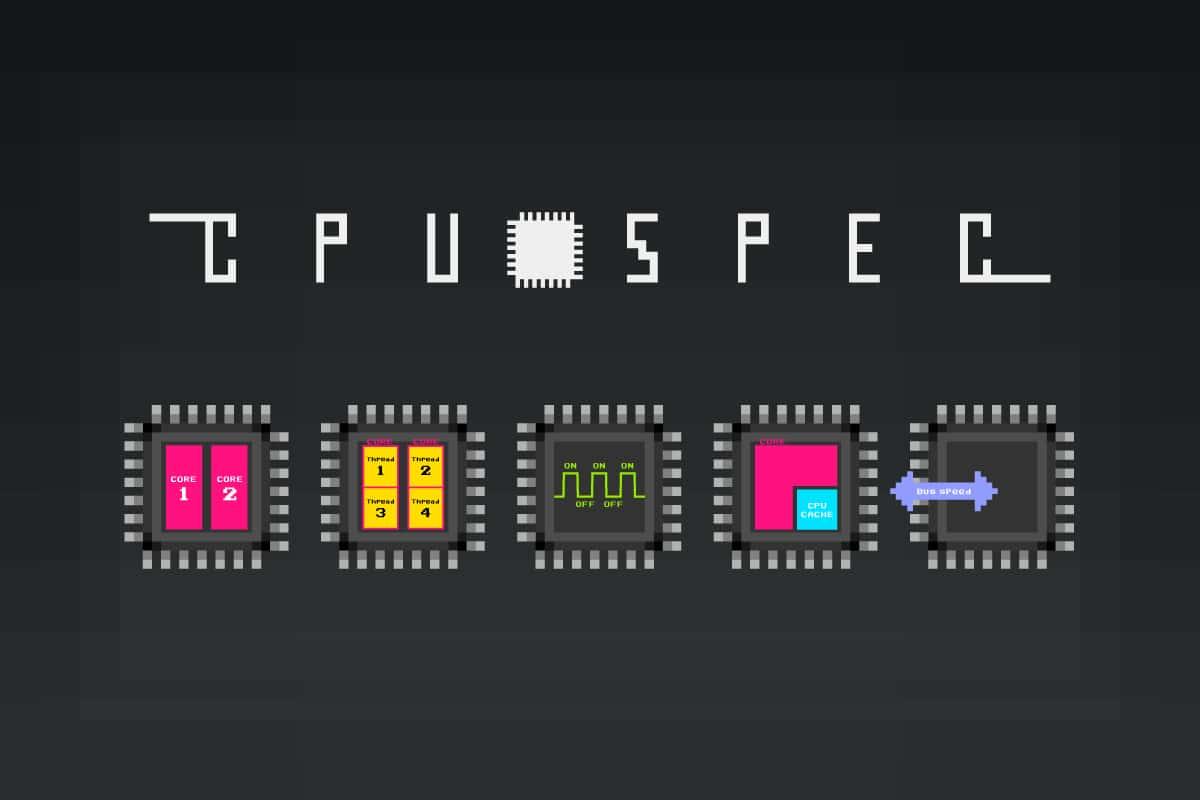 """CPU性能(スペック)を決める""""5大要素""""とその指標の見方"""