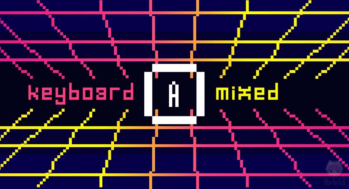 理想:キーボードを上手に落とし込む