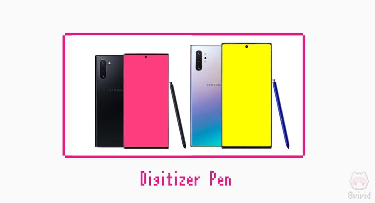 Galaxy Note10とS Pen。