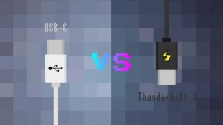 USB-CとThunderbolt 3の違い—規格比較表で転送速度・対応プロトコル・電源供給を見る