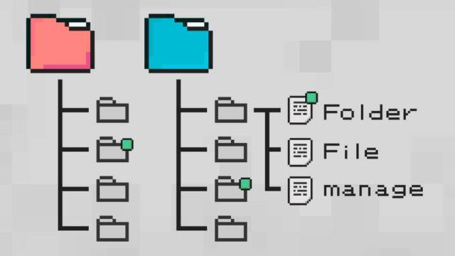 フォルダーを利用したファイル管理の限界説
