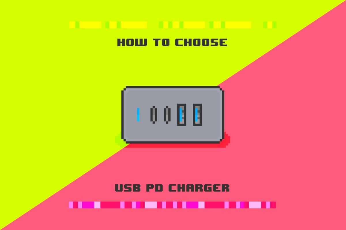 USB PD充電器の誰でも使える選び方・購入時の注目ポイント