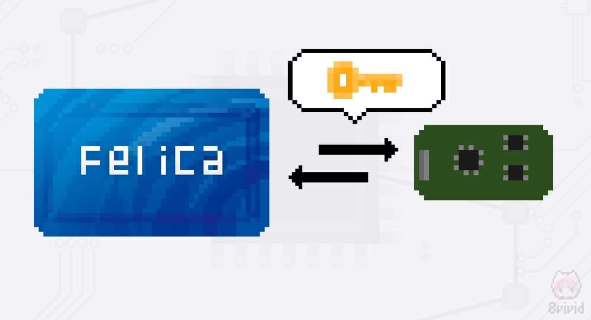 FeliCa同士の通信は暗号化されている。