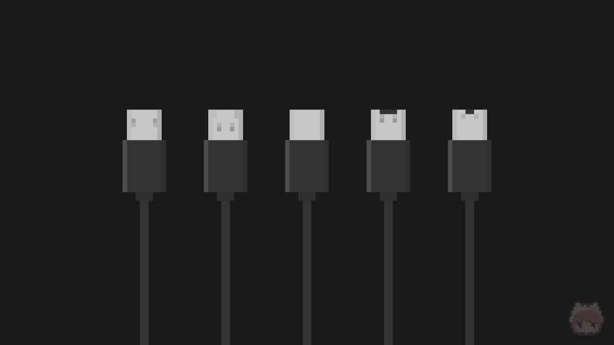 USBコネクター各種のイメージ